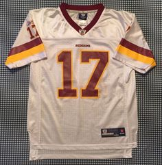 47305ad16 Jason Campbell Washington Redskins Replica Jersey Size Youth Large Reebok  NFL