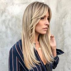 35 Long Layered Haircuts You Want to Get Now Stylish And Fu. - 35 Long Layered Haircuts You Want to Get Now Stylish And Fun Long Layered Haircuts ★ - Long Hair With Bangs And Layers, Haircuts For Long Hair With Bangs, Long Face Hairstyles, Long Layered Haircuts, Long Wavy Hair, Long Hair Cuts, Straight Hairstyles, Layered Hairstyles, Long Layered Bangs