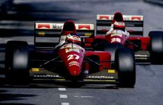 Jean Alesi / Gerhard Berger, Ferrari V12, F93A. Monaco GP, 1993