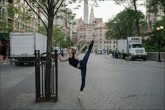 Isabella - Union Square, New York City Contour. Isabella Boylston, Ballerina Project, Union Square, City Landscape, Dance Photography, Ballet Dance, New York City, Street View, Photoshoot