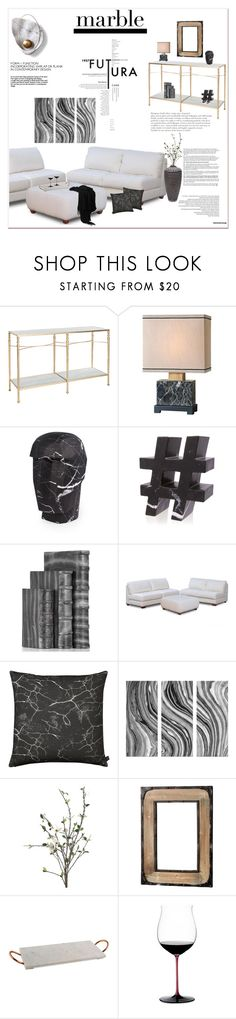 """""""Classic Elegance: Marble Home"""" by signaturenails-dstanley ❤ liked on Polyvore featuring interior, interiors, interior design, home, home decor, interior decorating, Aidan Gray, Kelly Wearstler, Jagger and By Nord"""