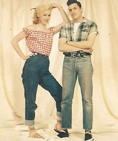 Vivien of Holloway 1950s style jeans size 12