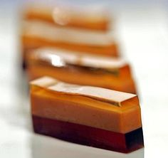 B-52 Jelly Shots feature layers of Kahlua, Baileys and Grand Marnier. http://seattletimes.com/html/foodwine/2004096985_webextragels29.html