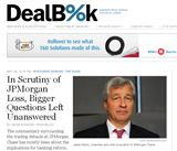 """DealBook from the New York Times: """"Commentary on deals and the dealmakers behind them."""" This is a continuously updated site providing legal and mergers & acquisitions news."""