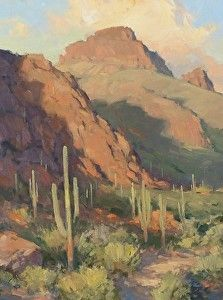 Desert Trail Western Landscape, Mountain Landscape, Landscape Art, Landscape Paintings, Oil Paintings, Landscapes, Fine Art Drawing, Desert Art, Southwest Art