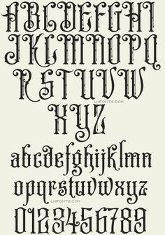 Letterhead Fonts / LHF Old Iron / Steve Contreras Fonts
