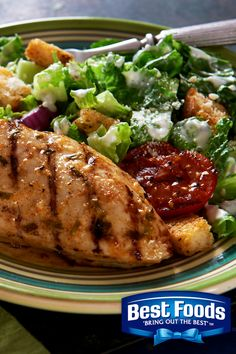 Here's an easy weeknight dinner perfect for the whole family. Best Foods Mayonnaise Dressing with Olive Oil adds the perfect kick to this Zesty Grilled Chicken recipe. Grilling Recipes, Meat Recipes, Chicken Recipes, Recipies, Cooking Recipes, Chicken Ideas, Free Recipes, Grilled Meat, Grilled Chicken