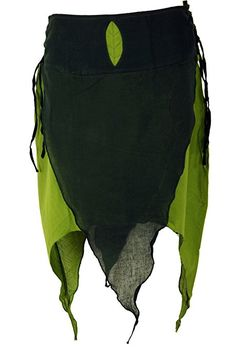 Mittelalter Zipfel Top Bluse Oberteil S M L XL 36 38 40 42 Übergröße Rot Grün