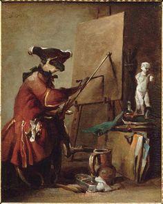 Le Sinoge peintre, by Jean-Simeon Chardin (1699-1779)