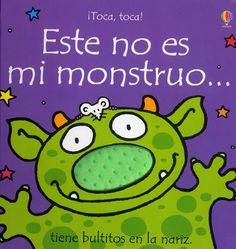 Nuevo título de la colección «¡Toca, toca!» dirigida a los más pequeños. A través de un sencillo argumento y una estructura repetitiva se van descartando a los monstruitos por sus abundantes cejas, sus púas, patas o cuernos... #monstruos #LIJ