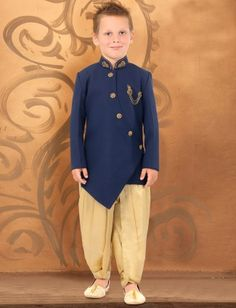 Items similar to Solid navy blue hue terry rayon indowestern for kids boys / Kurta for boys / Kurta for kids / sherwani for kids boys / kurtas / indowestern on Etsy Boys Kurta Design, Kids Frocks Design, Wedding Dress For Boys, Wedding Wear, Blue Wedding, Wedding Dresses, Sherwani For Boys, Kids Indian Wear, Kids Party Wear Dresses