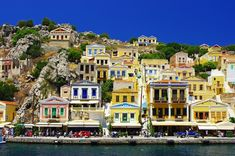 Find Amazing Greece Pictorial Island Symi stock images in HD and millions of other royalty-free stock photos, illustrations and vectors in the Shutterstock collection. Thousands of new, high-quality pictures added every day. South Beach, Places Around The World, Around The Worlds, Beautiful Homes, Beautiful Places, Buy Wallpaper Online, Harbor Town, Destinations, Eindhoven