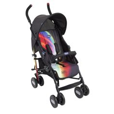The Chicco Echo Stroller is a modern and stylish stroller in the Special Edition Pixie style is practical and ideal for everyday use.This Chicco stroller is suitable for use from birth to 15kgs.