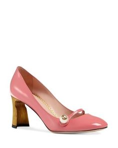 695 Gucci Arielle Mary Jane Pumps | Bloomingdale's