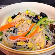 ずっと前から固定レシピのお気に入り料理。美味しいわー - 7件のもぐもぐ - 中華春雨サラダ by taro16bit