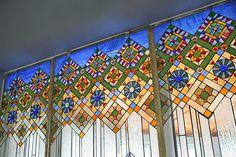 Stained glass, Ukrainian design/Rukotvory