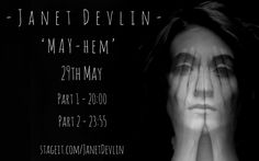 "Get Your Tickets Now For Janet Devlin's Stageit Performances - http://www.okgoodrecords.com/blog/2017/05/17/get-your-tickets-now-for-janet-devlins-stageit-performances/ - Singer-songwriter Janet Devlin has two upcoming performances that will be take place on Stageit! The performances will be taking place on Monday, May 29th, with the first performance taking place at 3:00 PM EST and the second at 6:55 PM EST. These performance are titled ""MAY-HEM."" Send you sugg... - ind"