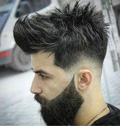 Amazing hair and beard combo!  #hairformen #hair #menshair #style #menstyle #mensfashion #menshaircut #menshairstyle #haircut #hairstyle #fashion #fashionmen #menwithstyle #hairstylist #hairdo #hairstyles #hairdresser #barber #barbershop #hairoftheday #barberlife #barbershopconnect #menswear #mensstyle