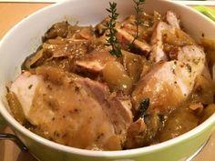 Pulpa de cerdo o pulpa de chancho con mostaza y miel. Una exquisita, simple y economica receta. Puedes prepararla con mostaza chilena, Dijon o a la antigua