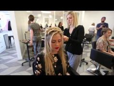 Crown Braid with Extensions - YouTube