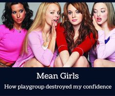 Mean Girls cast (April Lacey Chabert as Gretchen Wieners, Rachel McAdams as Regina George, Lindsay Lohan as Cady Heron and Amanda Seyfried as Karen Smith Lindsay Lohan, Amanda Seyfried, Teen Movies, Good Movies, Movie Tv, Awesome Movies, Art Movies, Movie Plot, Popular Movies