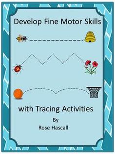 Develop Fine Motor Skill with Tracing Activities-This set contains 22 tracing worksheets that include straight lines, curvy lines and zigzag lines. Tracing worksheets will help your students develop writing skills.