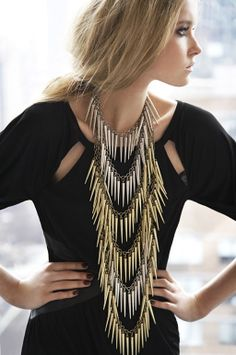 Spike Necklace Inspiration