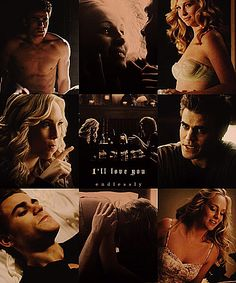 The Vampire Diaries   Caroline & Stefan
