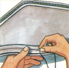 Cómo hacer un almohadón ribeteado | Decorar es nuestro hobby compartimos lo aprendido