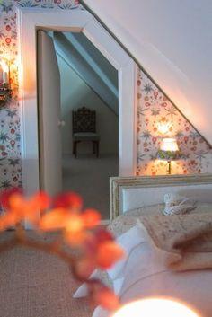 A Beautiful World: Attic bedroom...