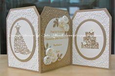 UK Independent Stampin' Up! Demonstrator - SHOP ONLINE: Wedding Card