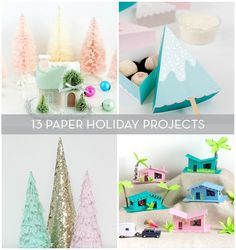 13 DIY Paper Projects To Make For The Holidays