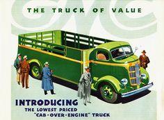 1937 GMC C.O.E. Truck