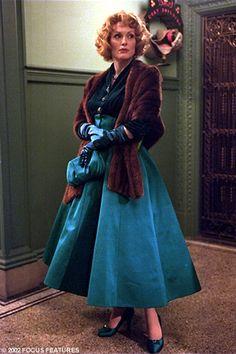 Julianne Moore's 50's teal dress in Far from Heaven.