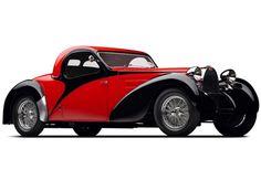 1939 Bugatti T57C Atalante at the Mullin Automotive Museum
