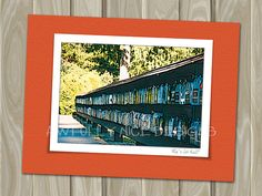 Who's Got Mail  - blank note card by Awfully Nice Designs.