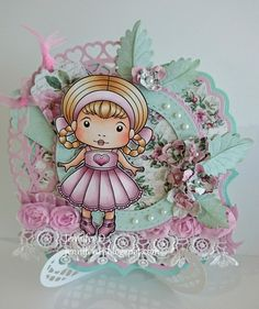 JenniferD's Blog: La-La Land Crafts - Think Pink