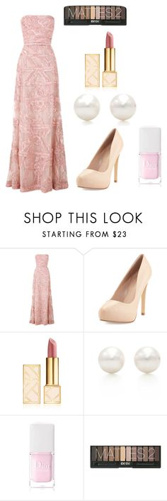 """My favorite"" by asiannaluxxx on Polyvore featuring Elie Saab, Charles by Charles David, Tory Burch, Tiffany & Co., Christian Dior and vintage"