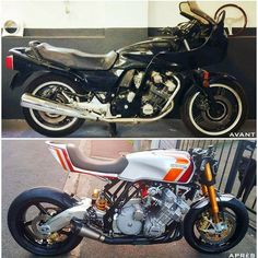 Honda Cbx, Custom Cafe Racer, Vintage Racing, Vehicles, Instagram, Cafe Racers, Car, Vehicle, Tools
