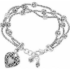 Bibi Heart Bracelet by Brighton.