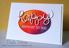 Stampinantics, Crazy About You, Hello You Thinlits, Stacked Die Cuts, Paula Dobson