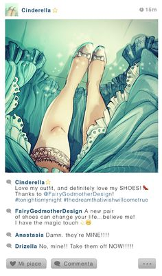 Here's What Happens When You Give Disney Princesses Instagram