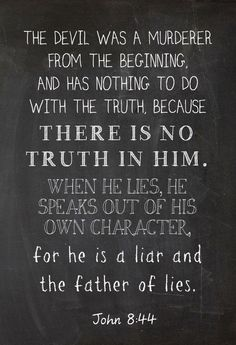 The truth about Satan. #seekthetruth