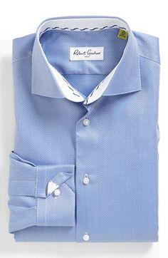 Robert Graham Mens Classic Fit Joy Solid Dress Shirt Dress Shirt