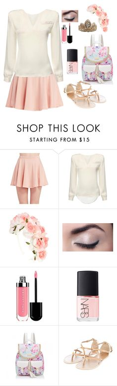 """""""Modern Rapunzel - Tauriel"""" by the-fandom-gals ❤ liked on Polyvore featuring Wet Seal, NARS Cosmetics, Forever New and modern"""
