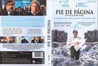 Pie de página [Vídeo] = Hearat Shulayim / un film de Joseph Cedar IMPRINT [Barcelona] : Cameo , 2014
