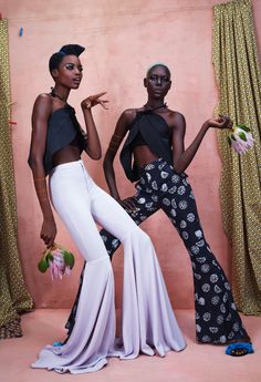 leah-cultice:  Ajak Deng & Maria Borges by Ed Singleton for...