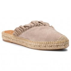 Espadrile KANNA - 19KV8034 Ante Taupe Taupe, Espadrilles, Outfits, Shoes, Fashion, Beige, Espadrilles Outfit, Moda, Suits