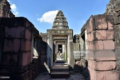 Inside Prasat Hin Phimai is the largest Khmer temple in Thailand today. It is a sanctuary of Mahayana Buddhism. Asia.  #phimai #thai #photo #siam #photograph #www.vincent-jary.fr #getty #gettyimages #photography #city #travel #destination #touristic #khmer #phrasat