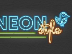 Neon Graphic Style by Ryan Putnam